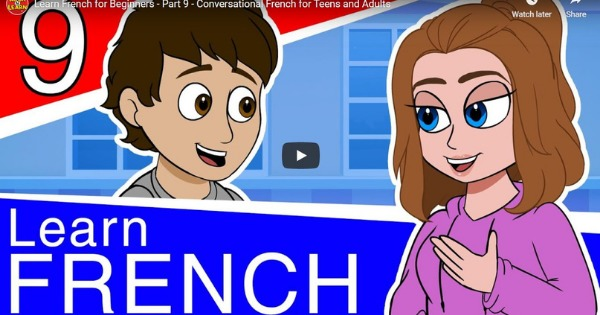 French For Beginners – Lesson 9