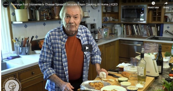 Read more about the article Fromage Fort: Homemade Cheese Spread | Jacques Pépin Cooking At Home