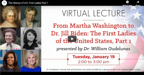 History Of U.S. First Ladies – Part 1