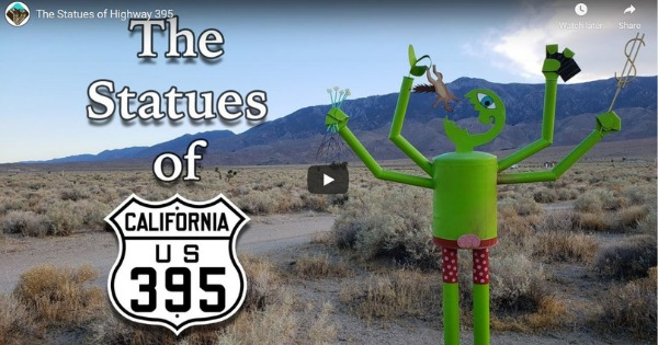 The Statues of Highway 395