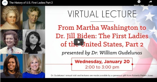 The History of U.S. First Ladies Part 2