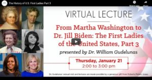 Read more about the article The History of U.S. First Ladies Part 3