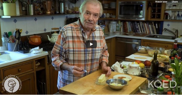 Homemade Banana Ice Cream | Jacques Pépin Cooking At Home