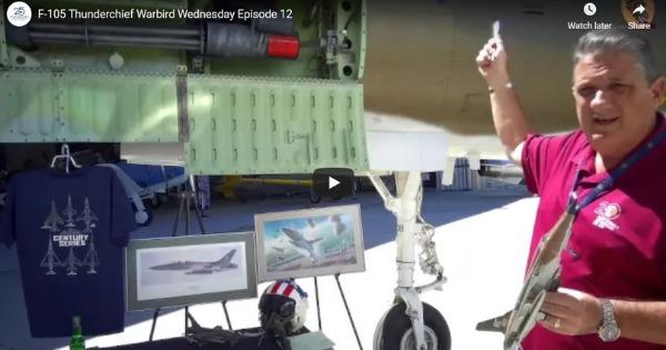 F-105 Thunderchief – Warbird Wednesday