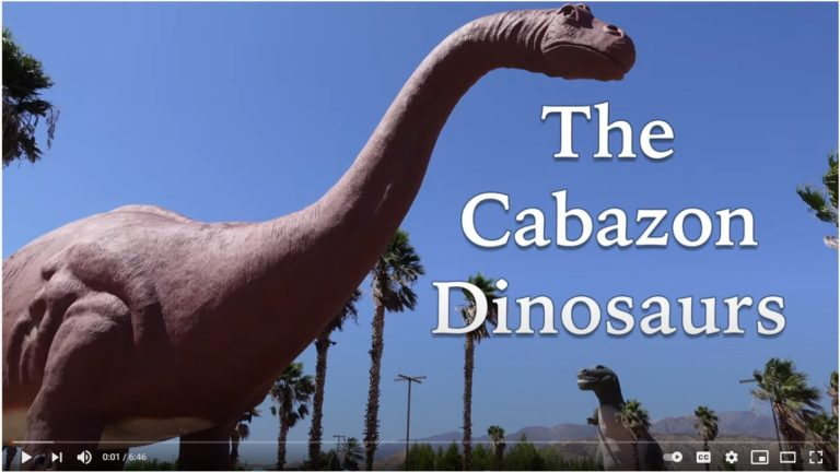California's Roadside Attraction – The Cabazon Dinosaurs