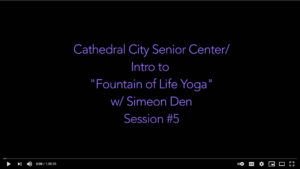 Read more about the article Yoga Ch'i With Simeon Den – Yoga #5
