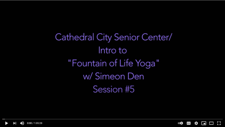 Yoga Ch'i With Simeon Den – Yoga #5