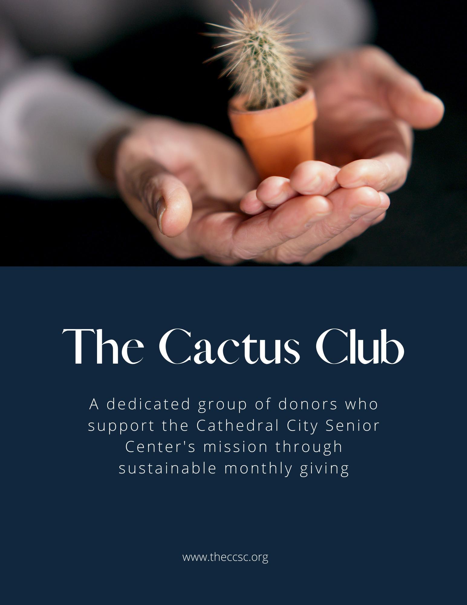 Cathedral City Senior Center Cactus Club